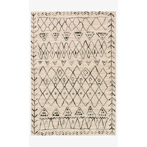 Emory Rugs by Loloi - EB-09 Heather Gray / Black
