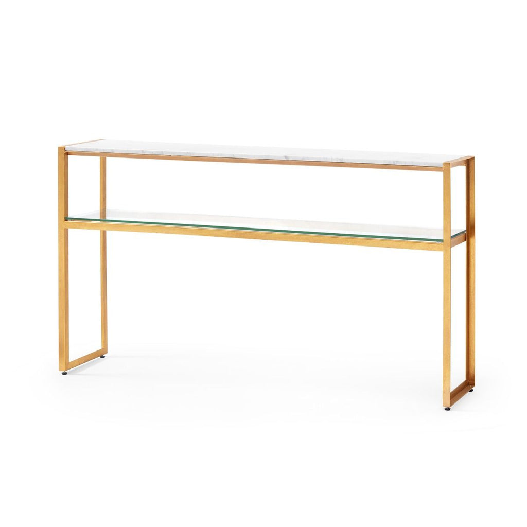 Bungalow 5 - ENDURA CONSOLE TABLE, WHITE-Bungalow 5-Blue Hand Home