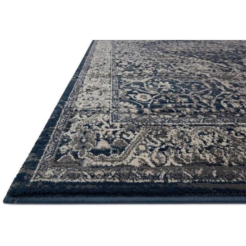 Joanna Gaines Everly Rug Collection - GREY/MIDNIGHT-Loloi Rugs-Blue Hand Home