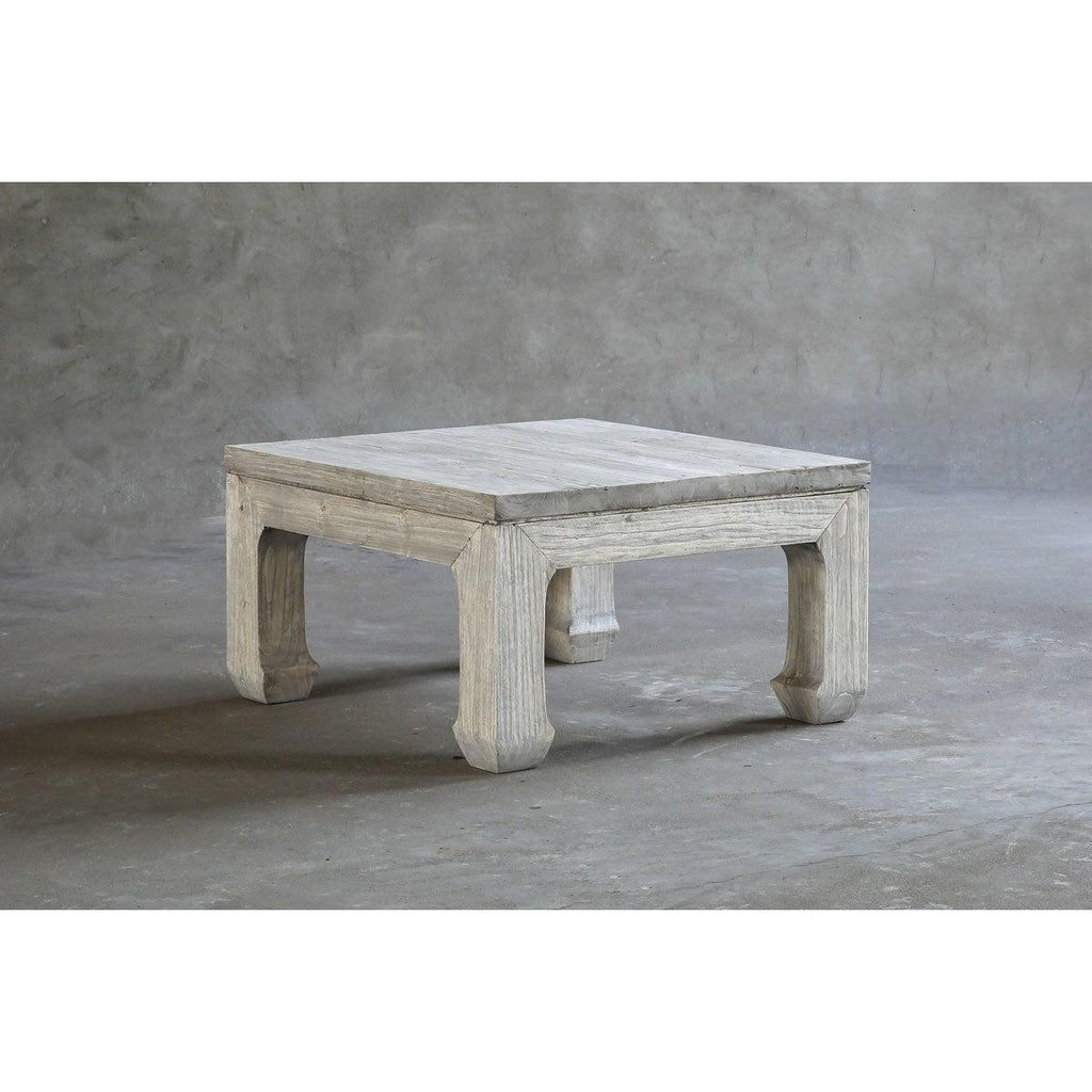Reclaimed Elm Side Table-Organic Restoration-Blue Hand Home