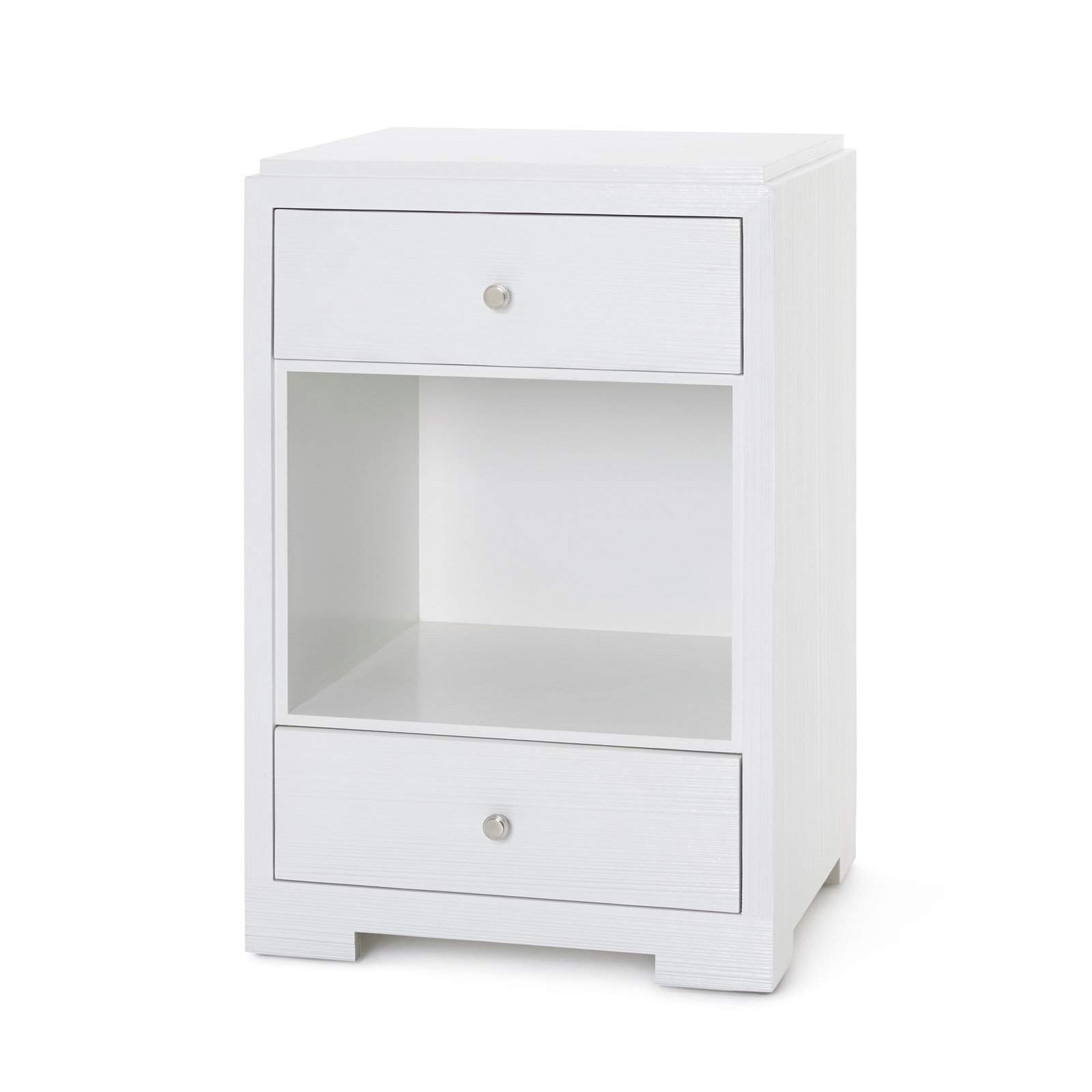 Bungalow 5 - FEDOR 2-DRAWER SIDE TABLE in WHITE