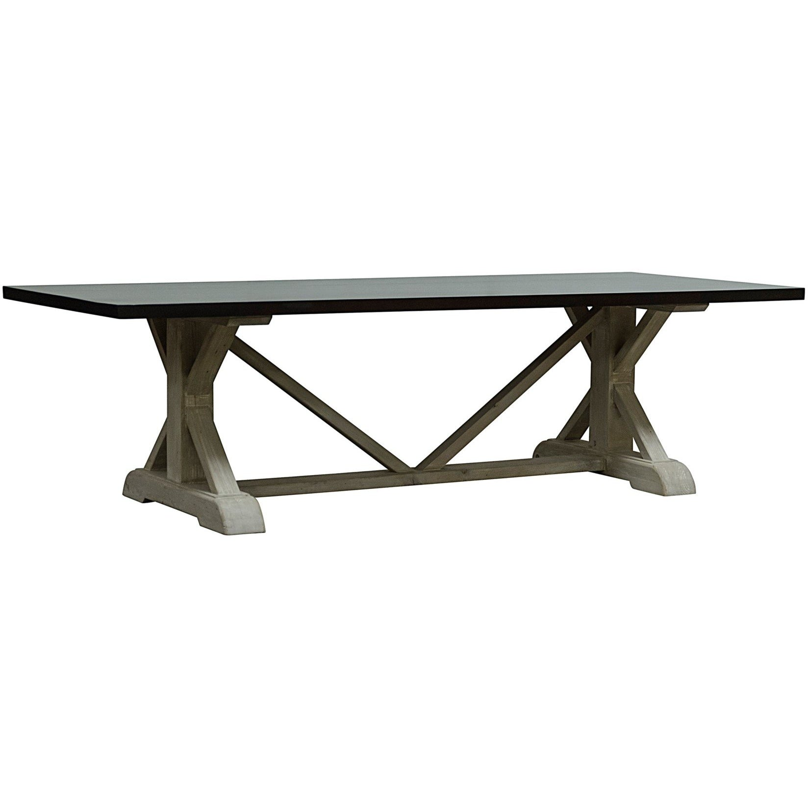 CFC Furniture Andreas Dining Table, 8 ft-CFC Furniture-Blue Hand Home