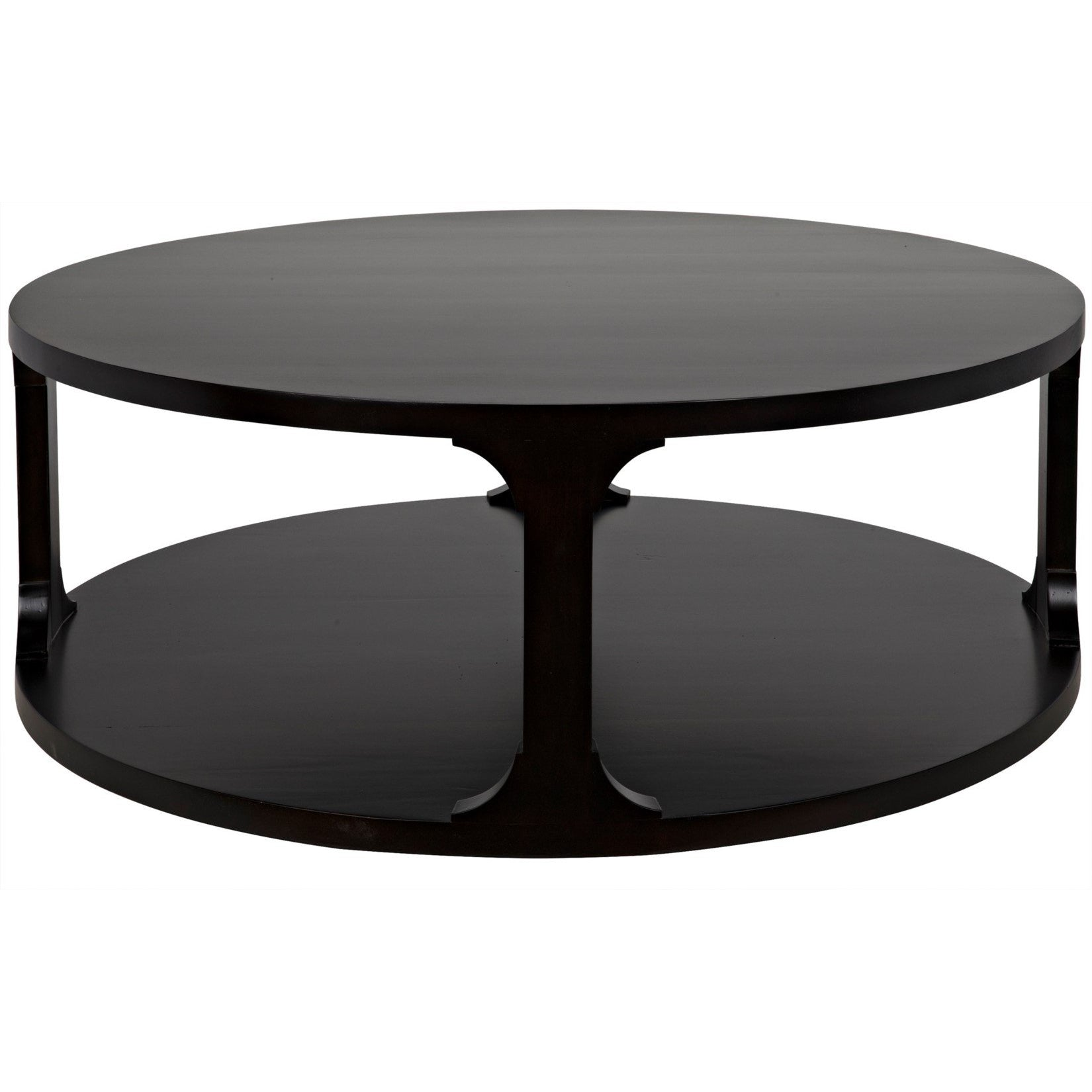 CFC Furniture Gimso Round Coffee Table, Alder