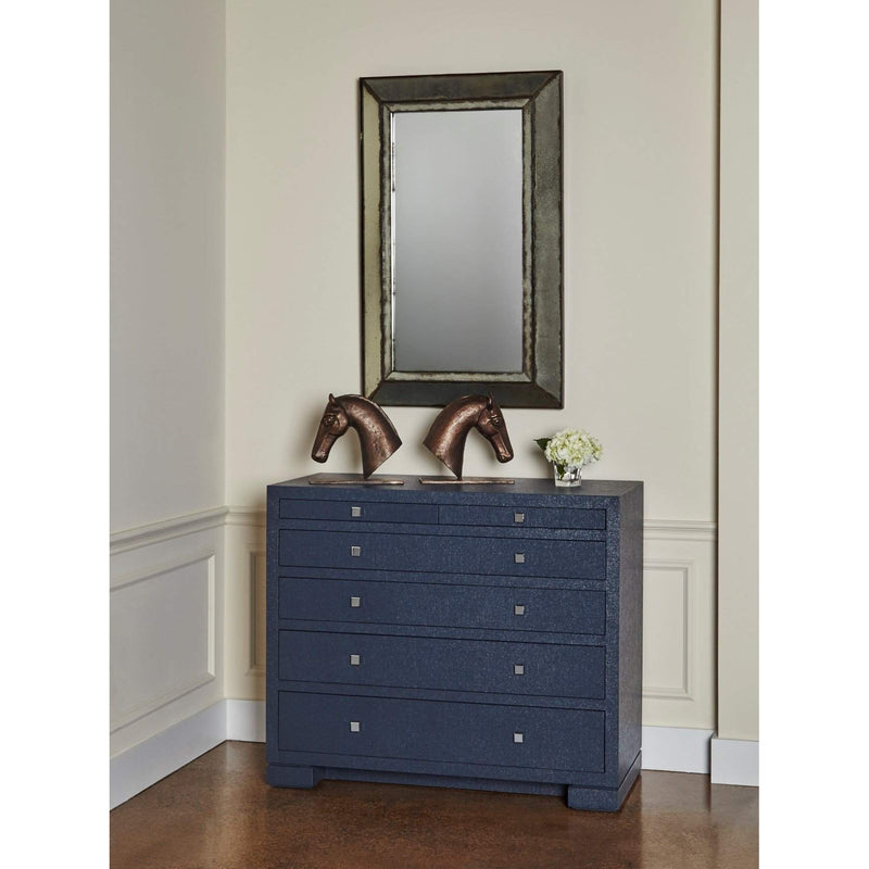 Bungalow 5 - FRANCES 6-DRAWER in NAVY BLUE-Bungalow 5-Blue Hand Home