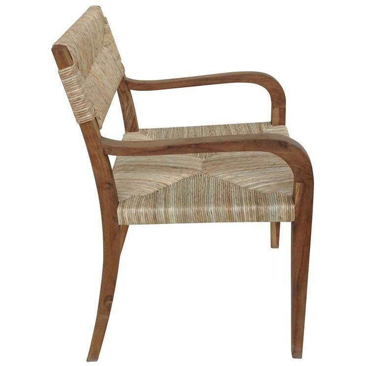 Noir Bowie Armchair - Teak-Noir Furniture-Blue Hand Home