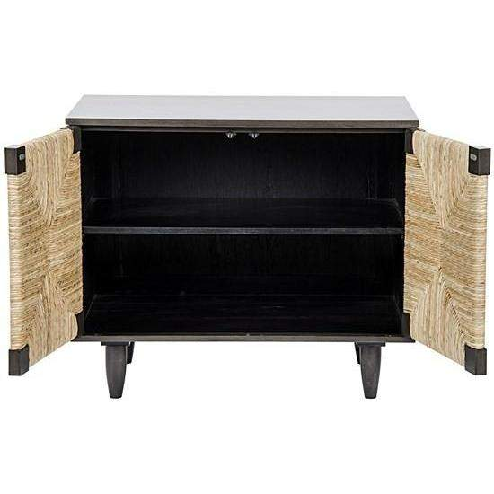 Noir Brook 2 Door Sideboard, Pale-Noir Furniture-Blue Hand Home