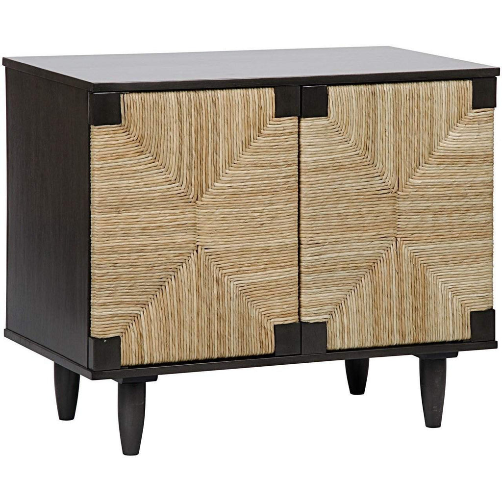 Noir Brook 2 Door Sideboard, Pale - Blue Hand Home