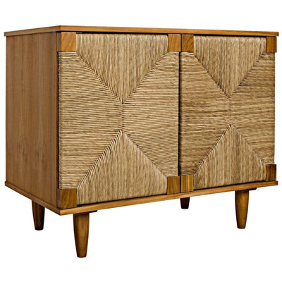 Noir Brook 2 Door Sideboard, Teak-Noir Furniture-Blue Hand Home