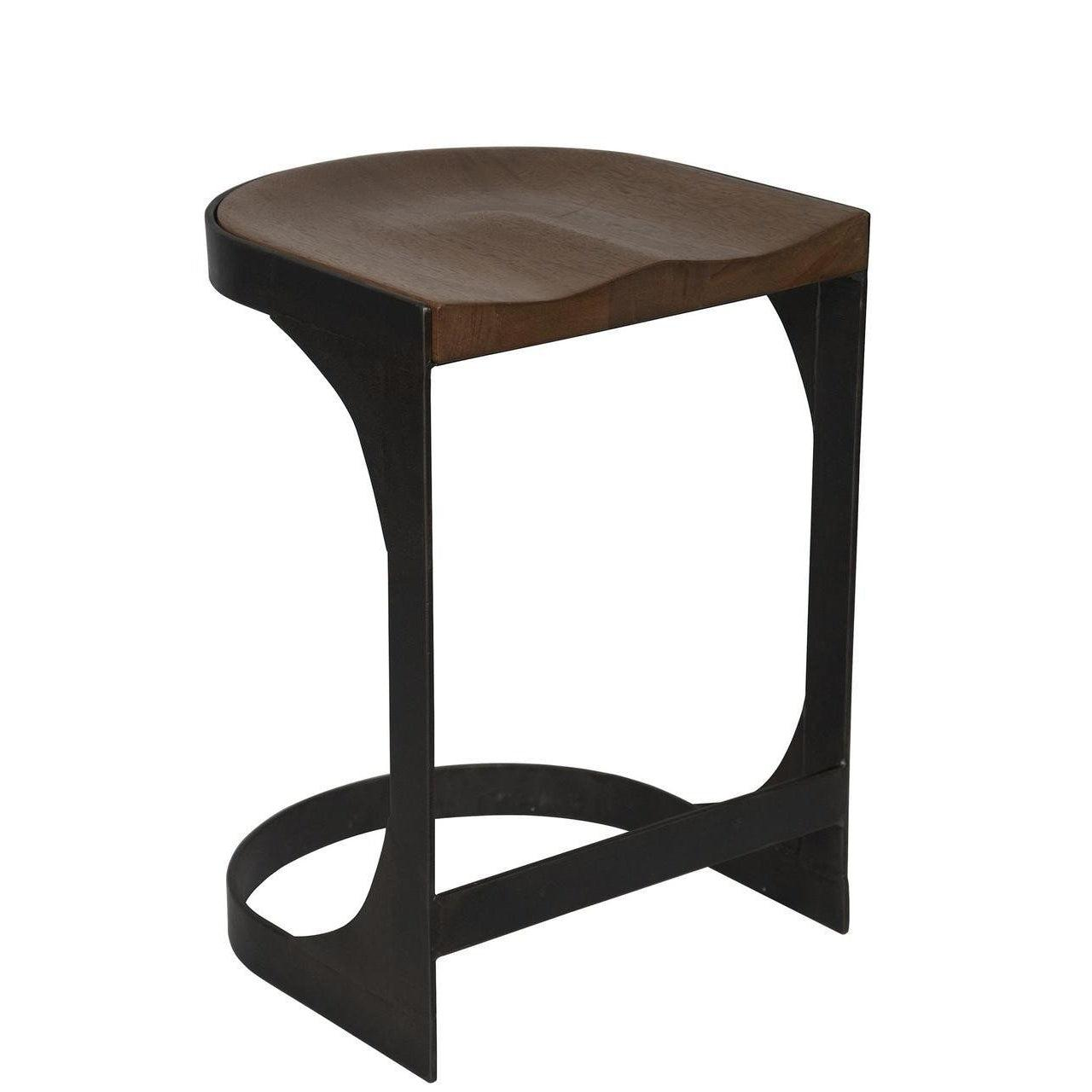 Noir Baxter Counter Stool
