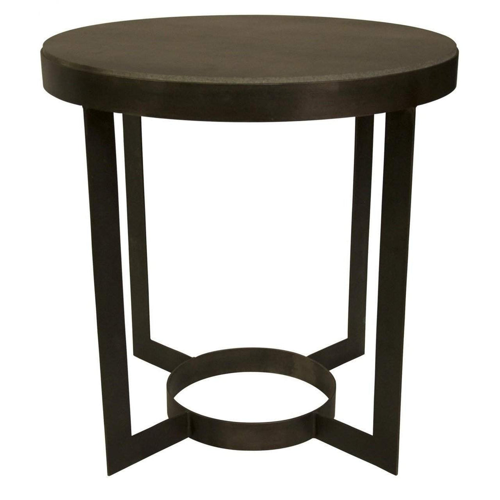 Noir Parker Side Table - Blue Hand Home