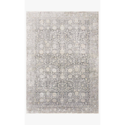 Gemma Rugs by Loloi - GEM-02 Charcoal Sand