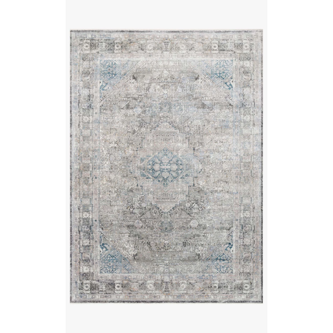 Gemma Rugs by Loloi - GEM-05 Silver Blue