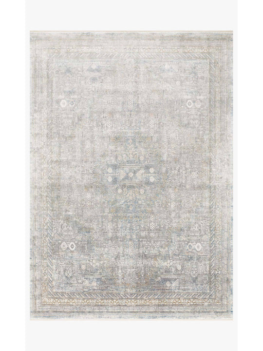 Gemma Rugs by Loloi - GEM-01 Silver Multi