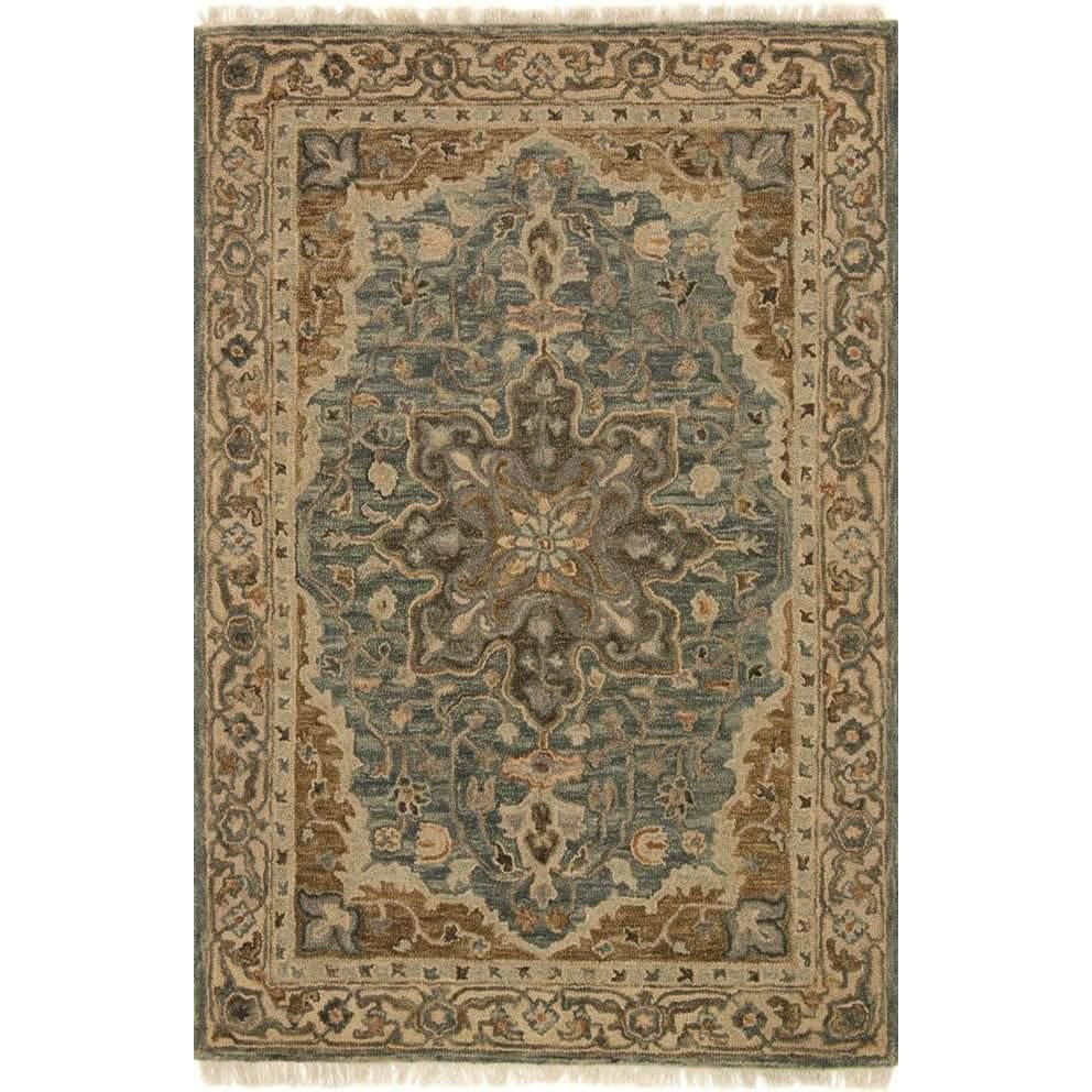 Joanna Gaines Hanover Rug Collection - OH-07 SLATE / BEIGE-Loloi Rugs-Blue Hand Home