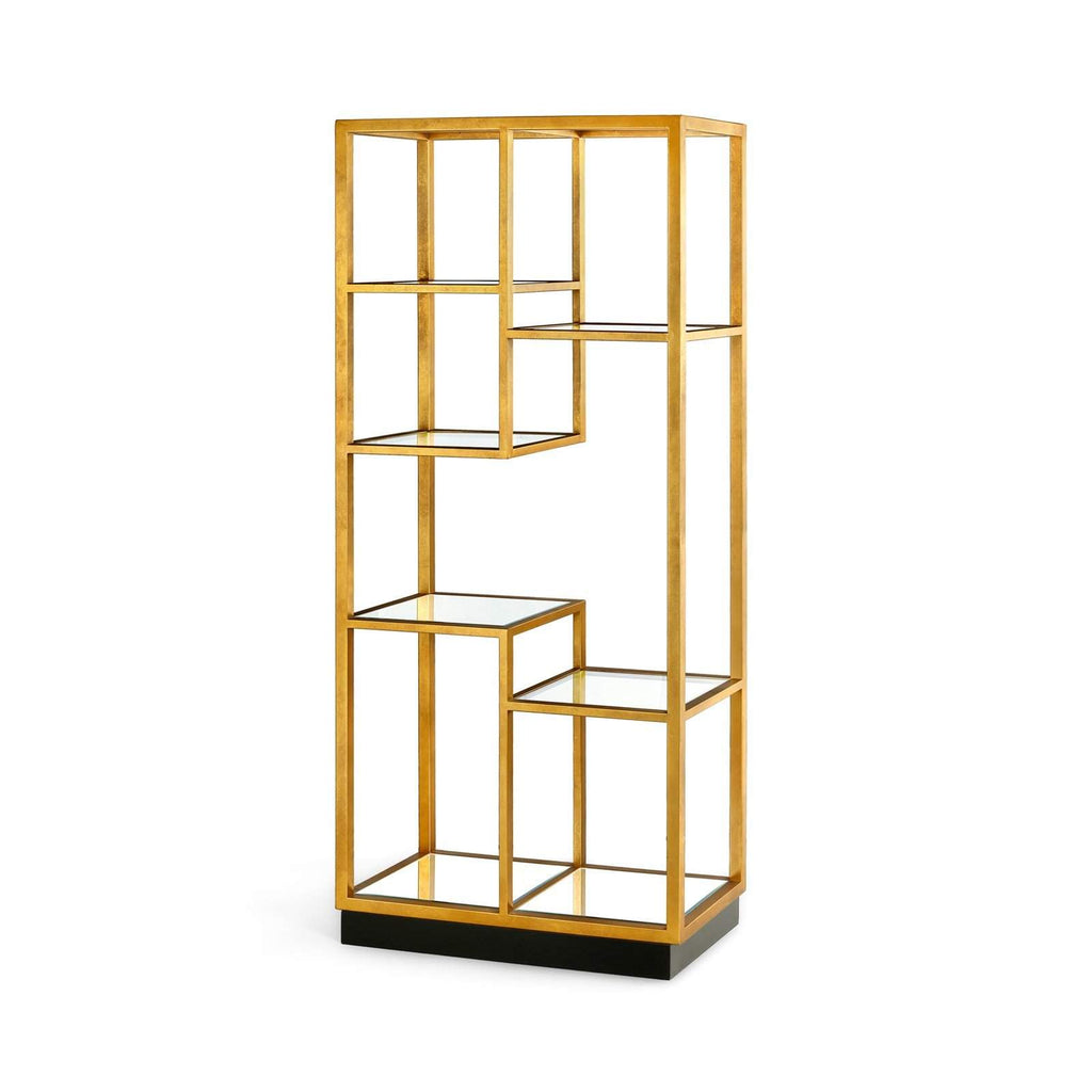 Bungalow 5 - HAYNES ETAGERE in GOLD-Bungalow 5-Blue Hand Home