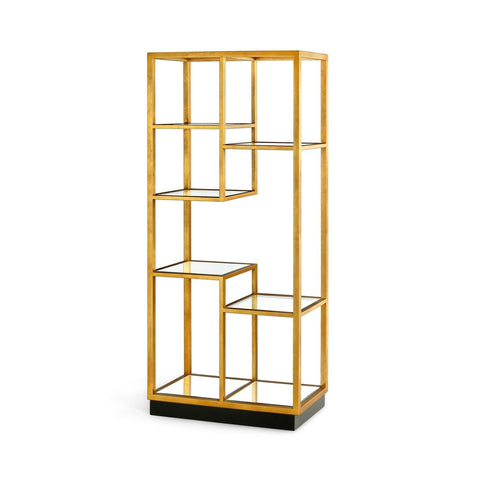 Bungalow 5 - HAYNES ETAGERE in GOLD - Blue Hand Home