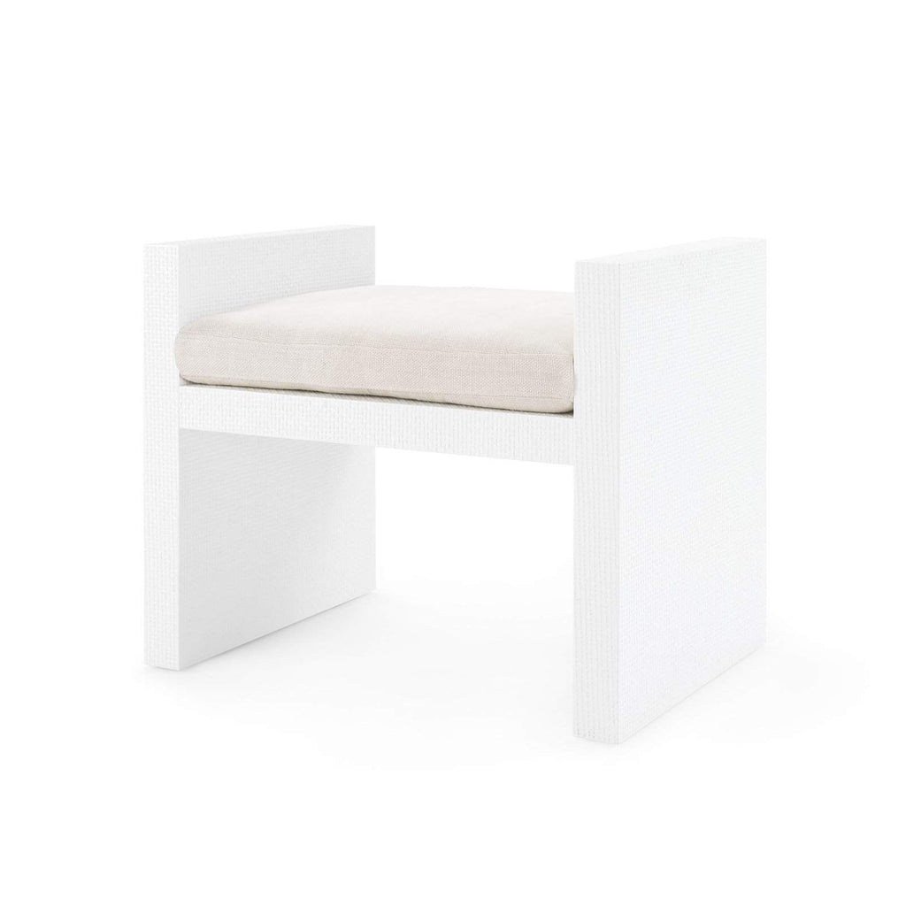 Bungalow 5 - H-BENCH in WHITE - Blue Hand Home