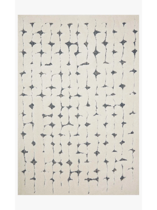 Hagen Rugs by Loloi - HAG-04 White/Navy