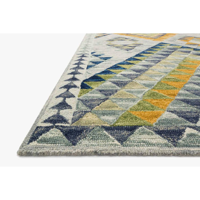 Justina Blakeney Rugs - Hallu - HAL-07 SPA/GOLD-Loloi Rugs-Blue Hand Home
