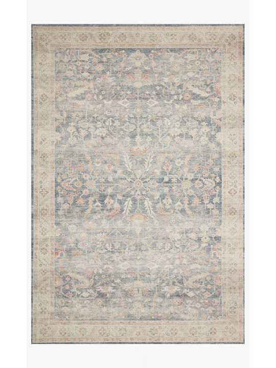 Hathaway Rug by Loloi - HTH-02 Denim/Multi