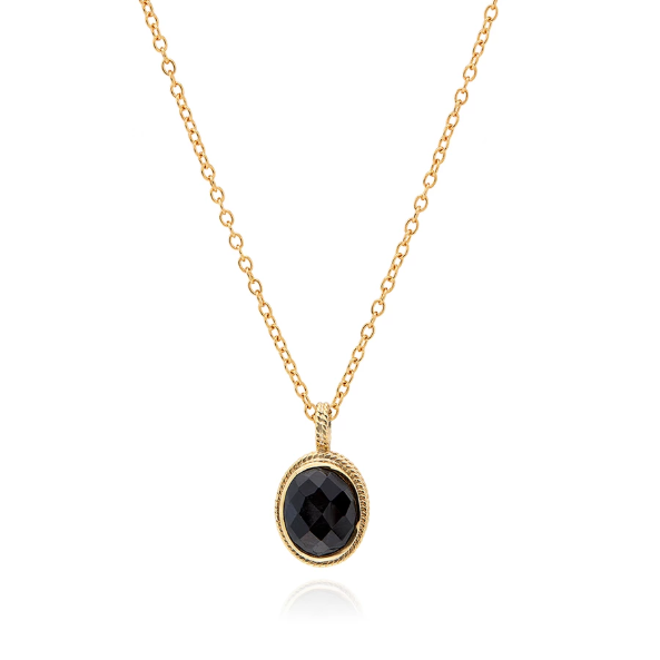 Anna Beck Hypersthene Necklace - Reversible
