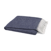 Italian Herringbone Throw-Lands Downunder-Blue Hand Home