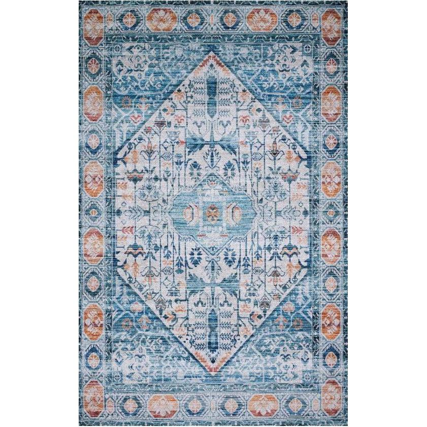 Justina Blakeney Rugs - Cielo - CIE-03 Ivory/Sunset-Loloi Rugs-Blue Hand Home