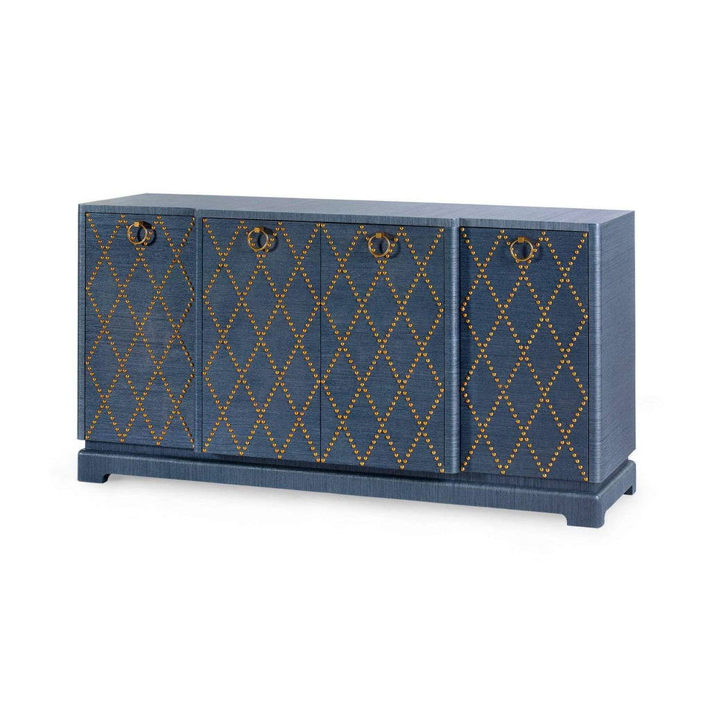 Bungalow 5 - JANAK LARGE CABINET in BLUE - Blue Hand Home