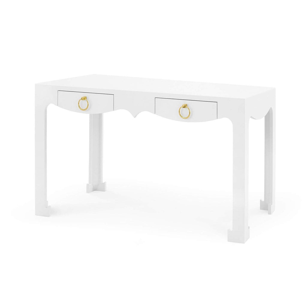 Bungalow 5 - JORDAN CONSOLE/DESK in WHITE-Bungalow 5-Blue Hand Home