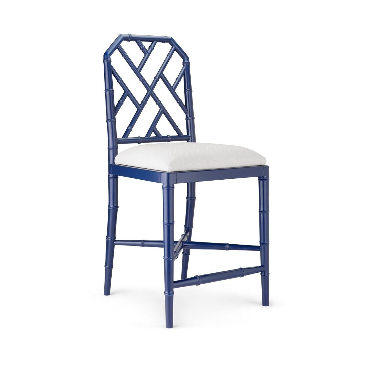 Bungalow 5 - JARDIN COUNTER STOOL, NAVY BLUE