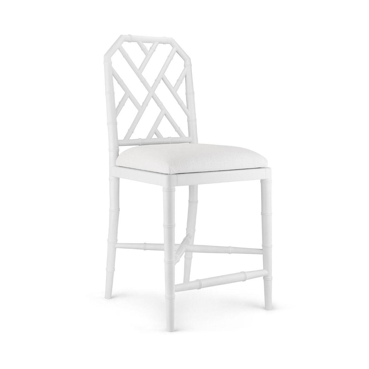 Bungalow 5 - JARDIN COUNTER STOOL, WHITE-Bungalow 5-Blue Hand Home