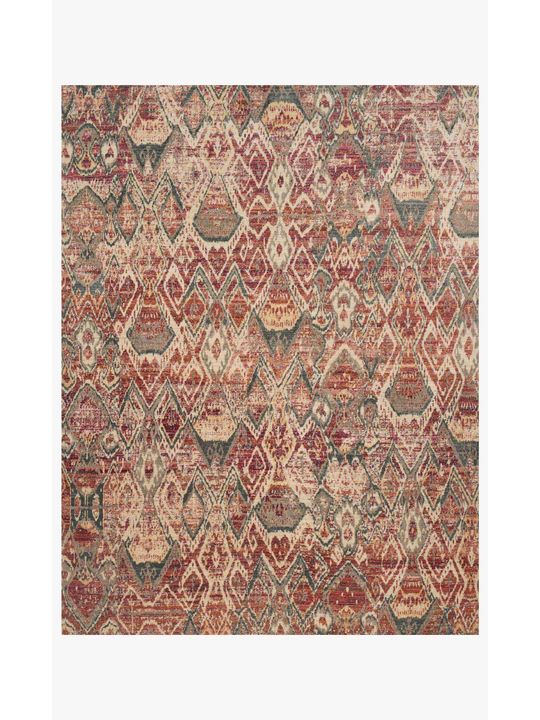 Javari Rugs by Loloi - JV-04 Berry/Ivory