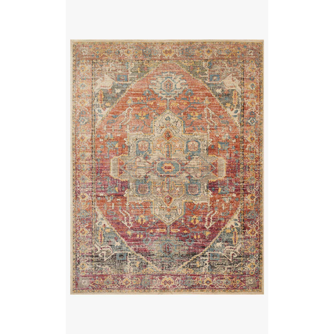 Javari Rugs by Loloi - JV-08 Berry/Sunrise