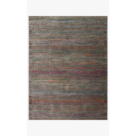 Javari Rugs by Loloi - JV-02 Charcoal/Sunset