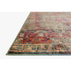 Javari Rugs by Loloi - JV-03 Slate/Berry-Loloi Rugs-Blue Hand Home