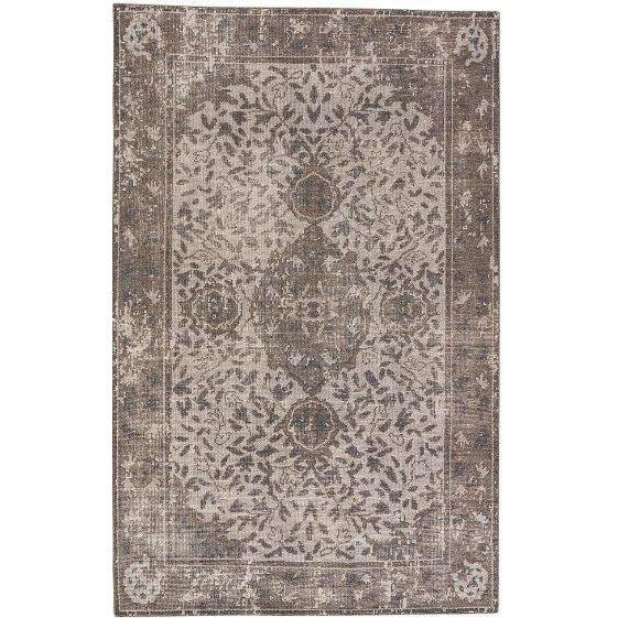 Jaipur Kai Rugs - Vapor Blue and Bungee Cord-Jaipur Living-Blue Hand Home