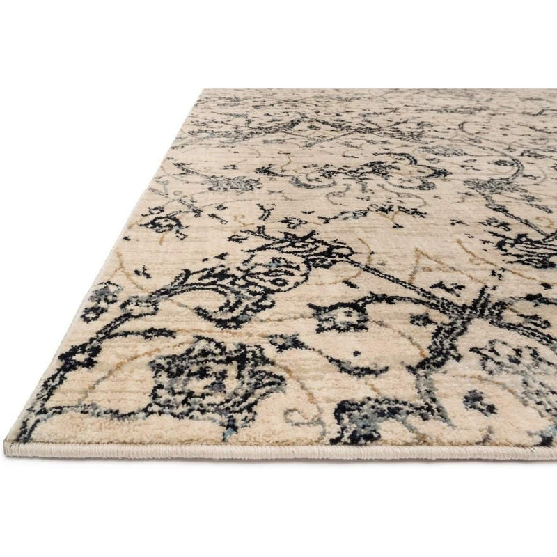 Joanna Gaines Kivi Rug Collection - Ivory / Ink-Loloi Rugs-Blue Hand Home