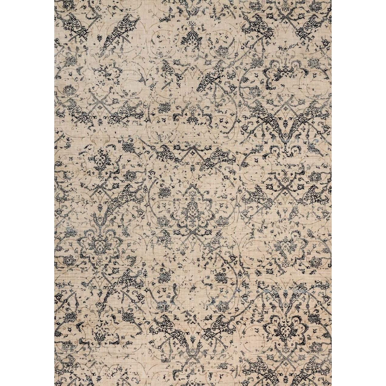 Joanna Gaines of Magnolia Home Kivi Rug Collection - Ivory / Ink