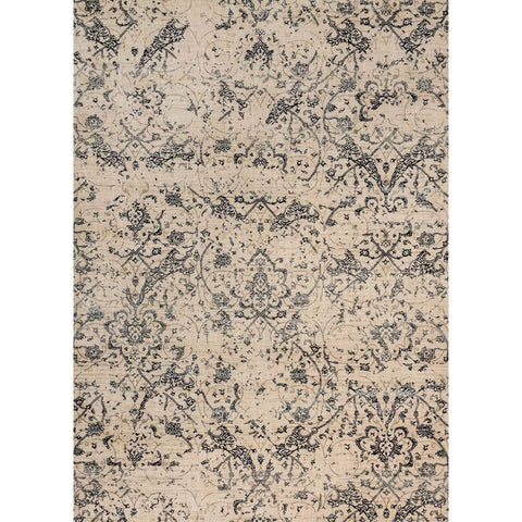 Joanna Gaines Rugs of Magnolia Home Rug Collection - Kivi Collection - Ivory / Ink - Blue Hand Home
