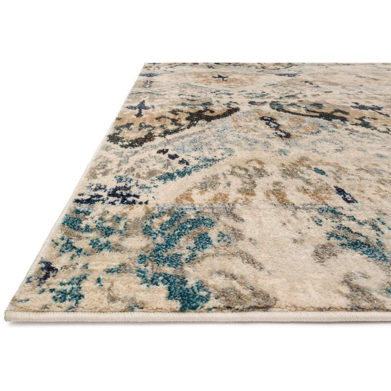Joanna Gaines Kivi Rug Collection - Sand / Ocean-Loloi Rugs-Blue Hand Home