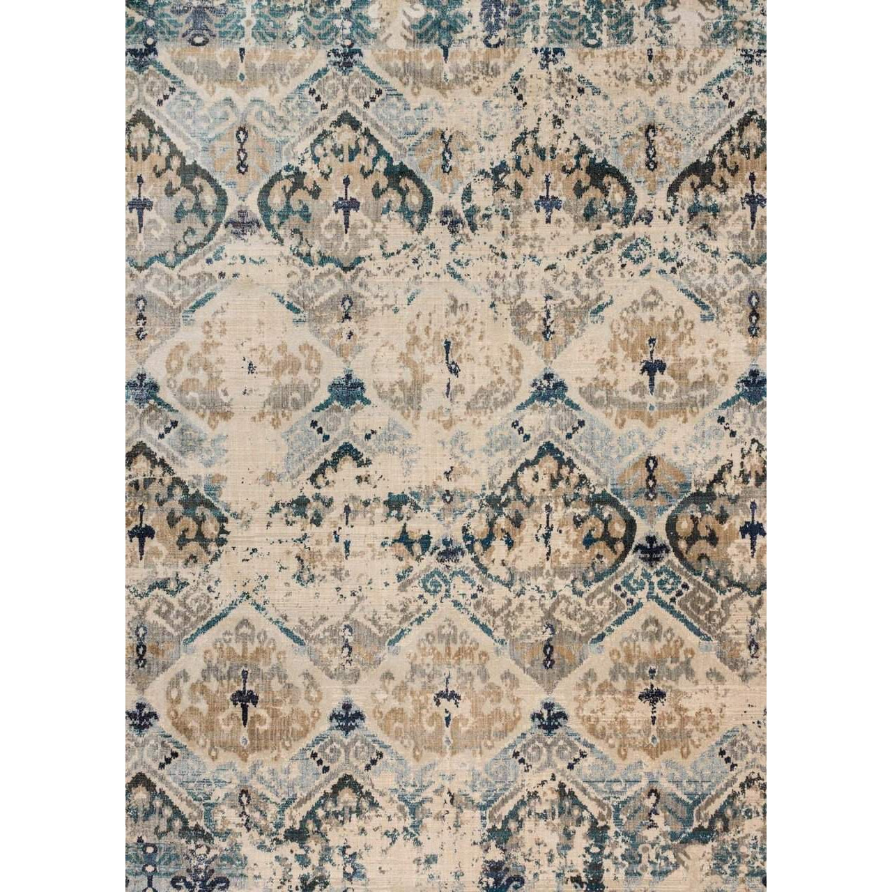 Joanna Gaines of Magnolia Home Kivi Rug Collection  - Sand / Ocean