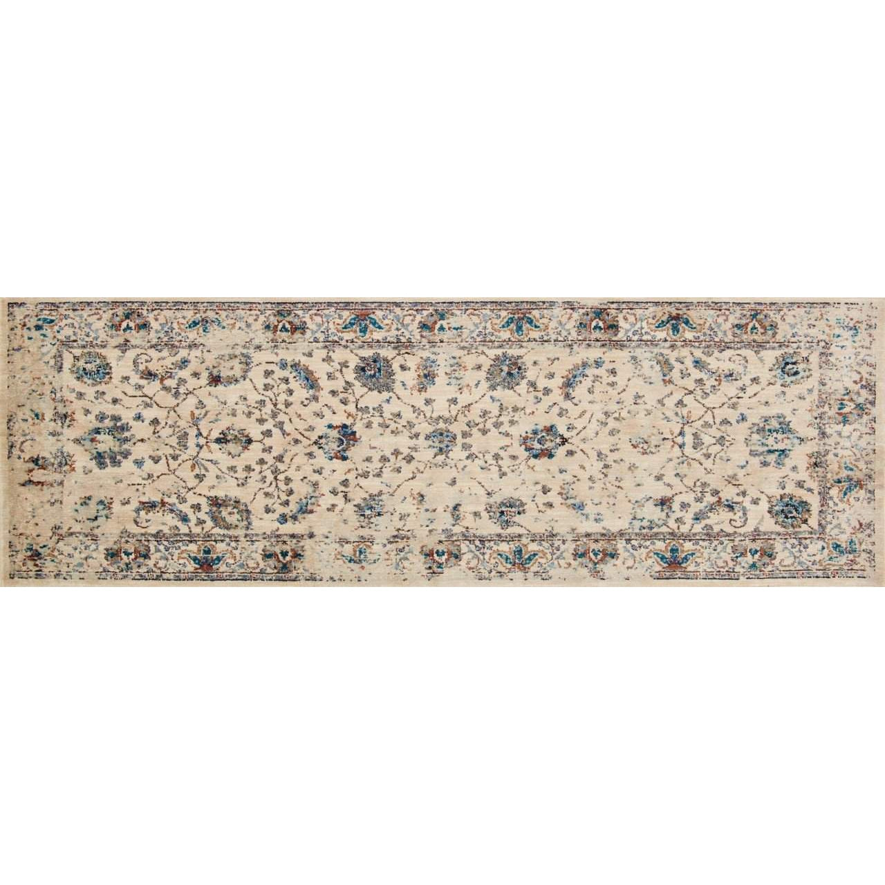 Joanna Gaines Kivi Rug Collection - Ivory / Multi-Loloi Rugs-Blue Hand Home