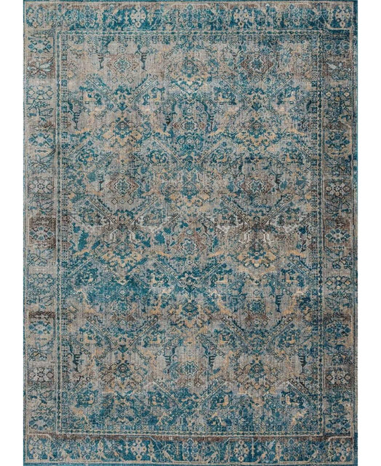 Joanna Gaines Kivi Rug Collection - Fog / Mediterranean