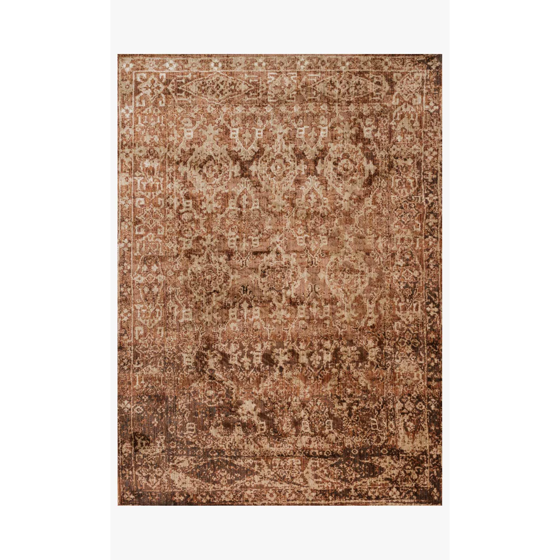 Joanna Gaines Kivi Rug Collection - KV-04 Sand/Copper-Loloi Rugs-Blue Hand Home
