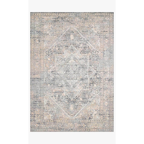 Lucia Rugs by Loloi - Grey / Sunset