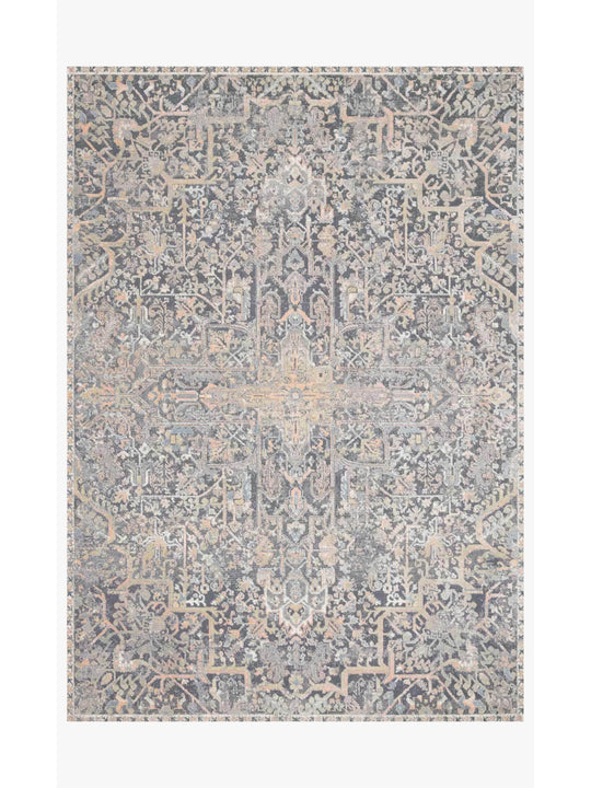 Lucia Rugs by Loloi - Charcoal / Multi
