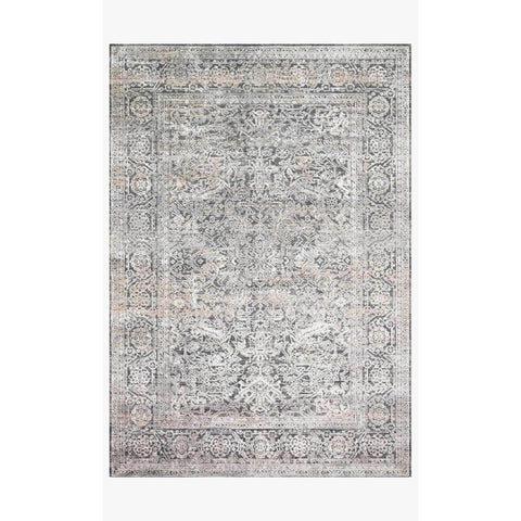 Lucia Rugs by Loloi - Steel / Ivory