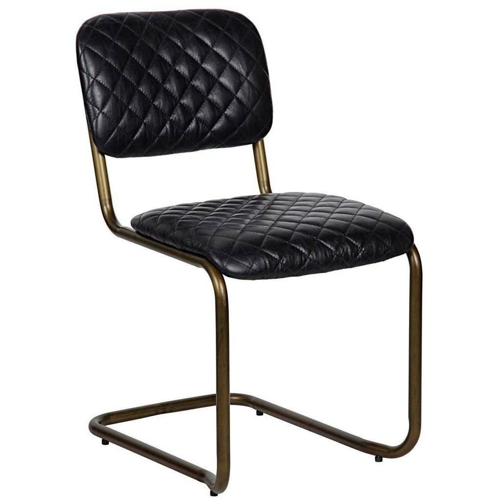 Noir 0037 Dining Chair - Blue Hand Home