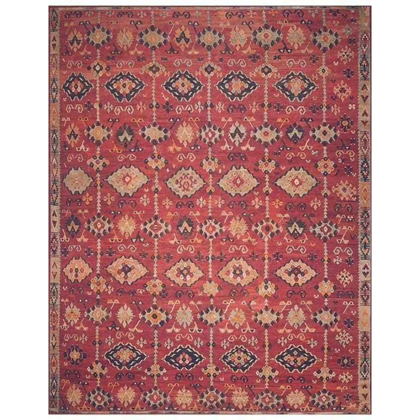 Joanna Gaines Lucca Rug Collection - LF-02 Brick/Multi-Loloi Rugs-Blue Hand Home