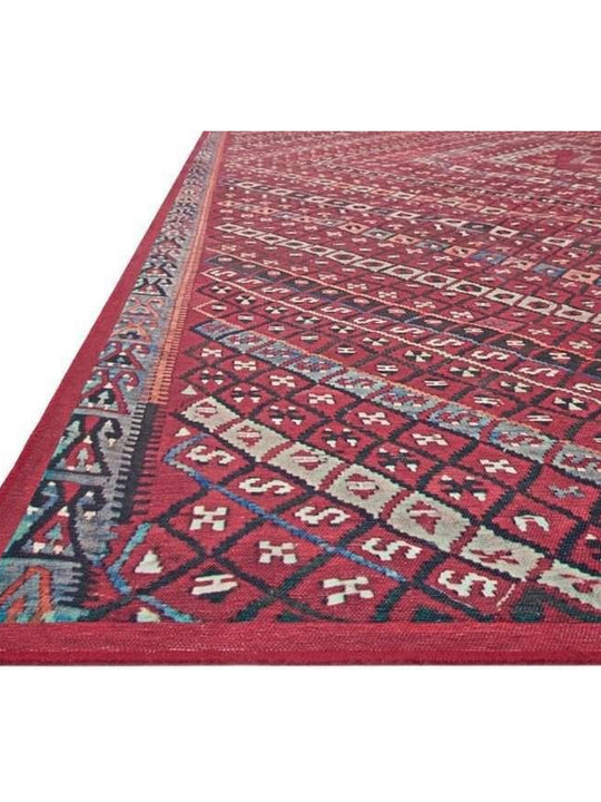 Joanna Gaines Lucca Rug Collection - LF-05 Red/Multi